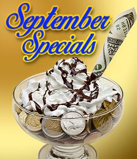 Slotland Mobile Casino September Sweet Specials
